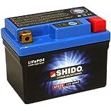 Batterie Shido Lithium LTZ7S / YTZ7S, 12V/6AH (Maße: 113x70x105) für Yamaha YZF1000 R1M Baujahr 2016