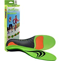 Orthotic Sports Insoles by FootActive | NHS - Approved | High Impact Advanced Orthotic Arch-Support Insoles for Sports…