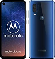 "Motorola One Vision smartphone – Sapphire Blue (128GB, 48MP, androidone, 21:9 6.3"" FHD+ display)"