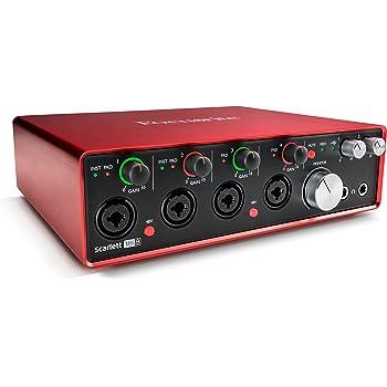 Novation Launch Control Portable USB Midi Contoller con 16pomelli e otto assegnabili PADS3 solo interfaccia 18i8-4 Mic Pres