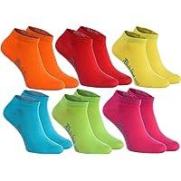 Rainbow Socks - Donna Uomo Colorate Calzini Corti di Cotone