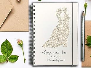 Hochzeitsplaner PERSONALISIERT Brautpaar