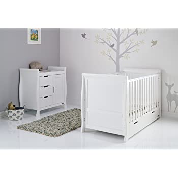 9a1a206ef24e OBaby Stamford Sleigh Tall Chest of Drawers (Taupe Grey): Amazon.co ...