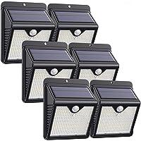 Lampe Solaire Extérieur, [ 6 Pack 150 LED - 1000 lumens] iPosible Lumière Solaire Etanche éclairage Solaire avec…