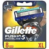 Gillette Fusion5 ProGlide Rakblad för Män, Paket med 8