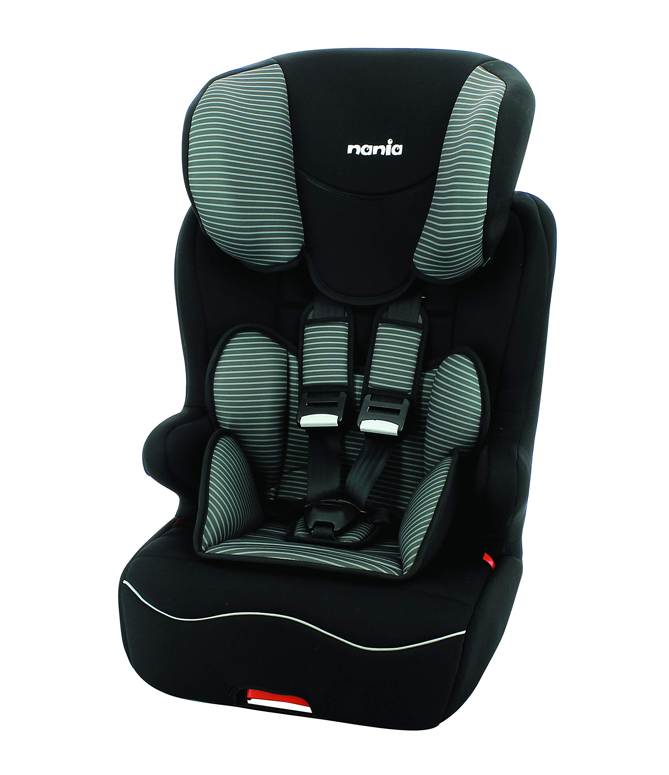 Racer ISOFIX Tech Grey 2019 High back booster Group 1/2/3,866221 Racer  1