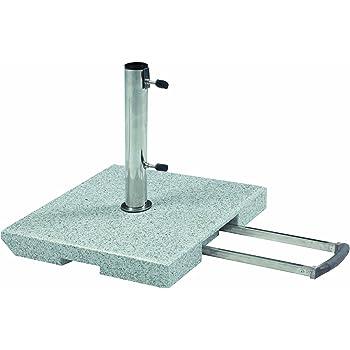 doppler 70 kg trolley granit schirmst nder mit rollen und trolleyfunktion. Black Bedroom Furniture Sets. Home Design Ideas