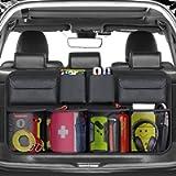 BURNNOVE Organizer Bagagliaio Auto Organizer per Bagagliaio Borsa Portabagagli Pieghevoli Auto per SUV e MPV con Elastic…