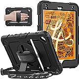 SEYMAC Estuche para iPad Mini 5, iPad Mini 4, Estuche para iPad a Prueba de Golpes de Cuerpo Completo con Soporte Giratorio 3