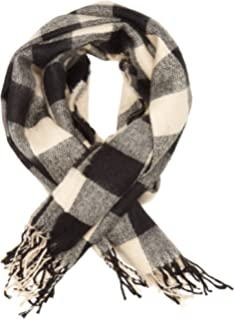 110513202be Naf Naf 12 UCAMDEN Foulard Femme Multicolore (Écru Noir) Taille unique  (Taille