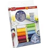 Gutermann 734562 Juego de 100 m x 10 carretes con Agujas de Coser Prym, Multicolor