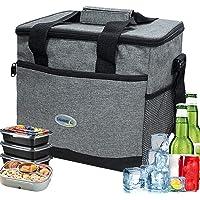 Lunch Bag Protection de Fraîcheur,Petite glacière Thermique Pliable,Petite glacière Portable,Imperméable Pliable Lunch…