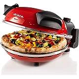 Ariete 909 pizza in 4 minuti, Forno per pizza, 400 gradi, Cuoce in 4', Piastra in pietra refrattaria 33 cm di diametro, 1200