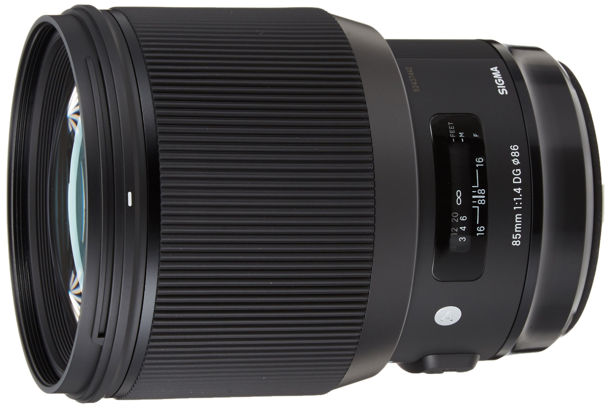 Sigma HSM ART Obiettivo 85 mm-F/1.4-AF a DG HSM, Attacco Canon, Nero