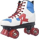 Roces Modèle de Disco Palace Roller Skate, US 4m, Taille 6W, Rouge/Blanc/Bleu, Mixte, 550039, Rouge/Blanc/Bleu, US 4M/6W
