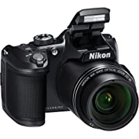 "Nikon Coolpix B500 Fotocamera Digitale Compatta, 16 Megapixel, Zoom 40X, ISO 125 - 6.400, VR, LCD Inclinabile 3"", Full…"