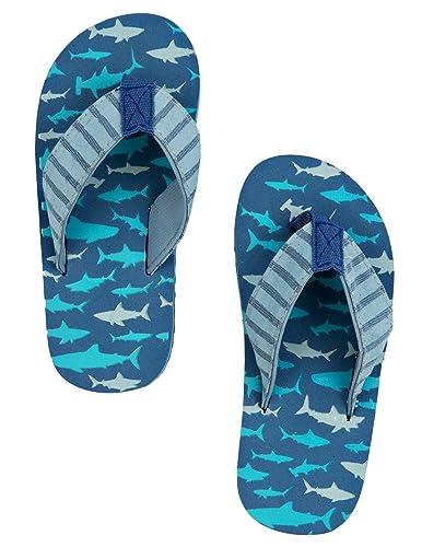 Hatley Lbh Kids Flip Flops-Sharks Attack, Chaussures de Plage et Piscine  Gar&CcedilOns: Amazon.fr: Chaussures et Sacs