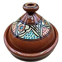 Ameublement Etnico Tajine 1801201009 Casserole Terre cuite Plat Marocain 35 cm