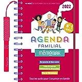 Agenda familial Mémoniak: Tous les outils pour s'organiser en famille. Avec 1 stylo , 700 autocollants, 1 planche de blocs-no
