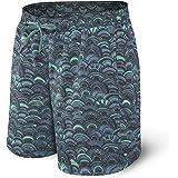 SAXX Underwear Co. Pantaloncini Da Bagno - Costume Da Bagno Lungo Cannonball 2N1 Con Tasche - Pantaloncini Da Surf Con Fodera