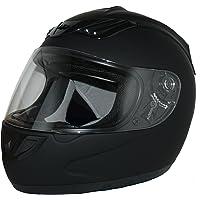 Protectwear H-510-ES-S Casco Integrale da Moto, Multicolore (nero), S (55 -56 cm)