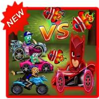 Pj-Mask Road P!nk vs Zombies ( New )