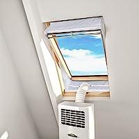 HOOMEE Tissu d'Isolation pour Fenêtre à Pivot Central avec Un Périmètre Allant Jusqu'à 300cm- pour Climatiseur Mobile et…