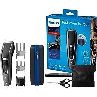Philips HC7650/15 Tondeuse Cheveux et Barbe Series 7000 avec Housse de Voyage et Kit Barber