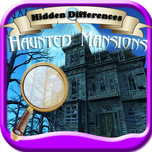 Hidden Differences: Haunted Mansions (Stories Scary Halloween-spiele,)