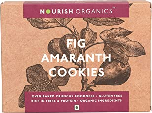 Nourish Organics Fig Amaranth Cookies, 120g