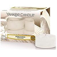 Yankee Candle Bougies Chauffe-Plat Parfumées | Ailes d'ange | Boîte de 12 Lumignons