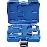 BGS 199 Adapter Set, Silver/blå, 6 Stycken