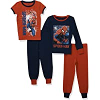 Marvel Pigiama per Ragazzi Spiderman Confezione da 2 Vestibilitta Stretta