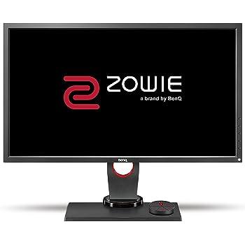 BenQ ZOWIE XL2730 Écran eSports Gaming de 27 pouces, 144 Hz, 1ms, Pied réglable en hauteur, Télécommande menu (S Switch), Black eQualizer, Noir Gris