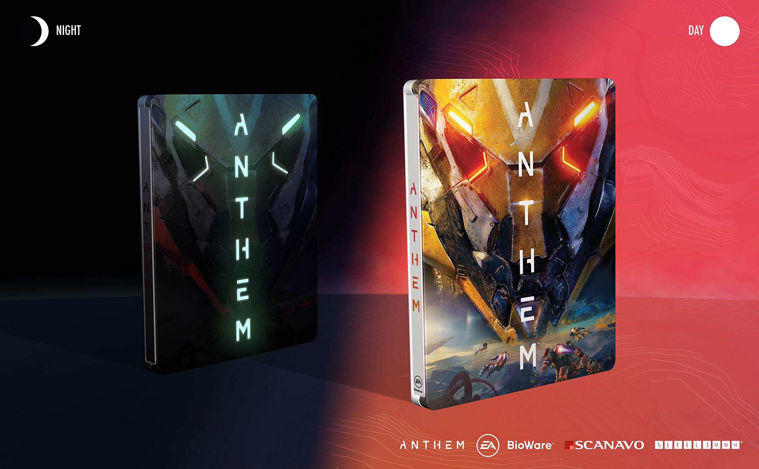 Anthem – Fluoreszierendes Steelbook (exkl. bei Amazon.de) – [Enthält kein Spiel] [Importación alemana]