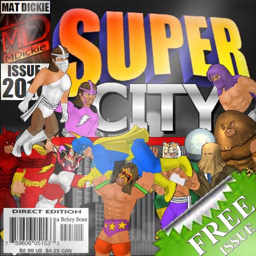 Super City (Superhero Sim) (Marvel-spiele Kostenlose)