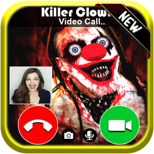 Killer Clown Roblox Video Live Call From Creepy Scary Clown Killer Free Fake Phone Game Calls Id Pro 2020 Prank Game Amazon In Appstore For Android