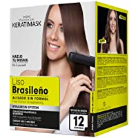 Be Natural Kit Lisciante Brasileño con Keratina, Verde