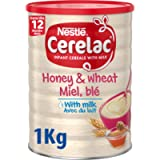 Nestlé CERELAC Wheat and Honey with Milk Infant Cereal 1 kg, 12 months+