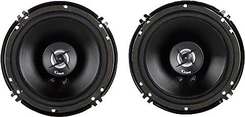 Cave 6 inches Car Speakers with Tweeter, 6' Door Speaker (Pack of 2)