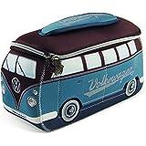 BRISA VW Collection - Volkswagen Hippie Bus T1 Camper Van Borsa Universale 3D da toilette-bagno di Neoprene, Beauty-case da V