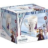Frozen II- Tasse Zum Bemalen Disney Taza para Colorear (6 Colores Diferentes, Pincel, Regalo para niñas), Multicolor (TM Esse