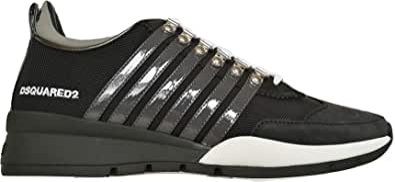 Dsquared Scarpe Uomo Low Top 251 Sneakers SNM0146 11702261 M150 Nero Grigio