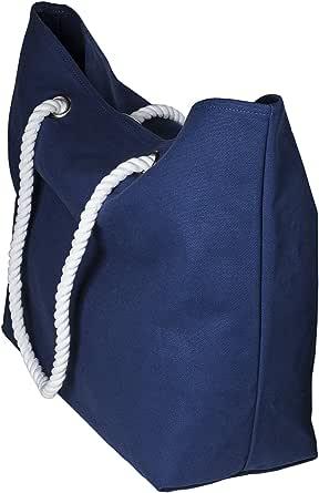cecilia&bens Canvas Strandtasche XXL für die ganze Familie | geeignet für Stranddecke, großes Strandtuch | ideales Urlaub-Zubehör