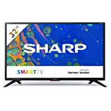 32BC6E - Téléviseur SHARP 32'' HD Ready Smart