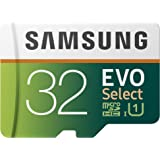 Samsung 32GB 95MB/s (U1) MicroSDXC EVO Select Memory Card with Full-Size Adapter (MB-ME32GA/AM)