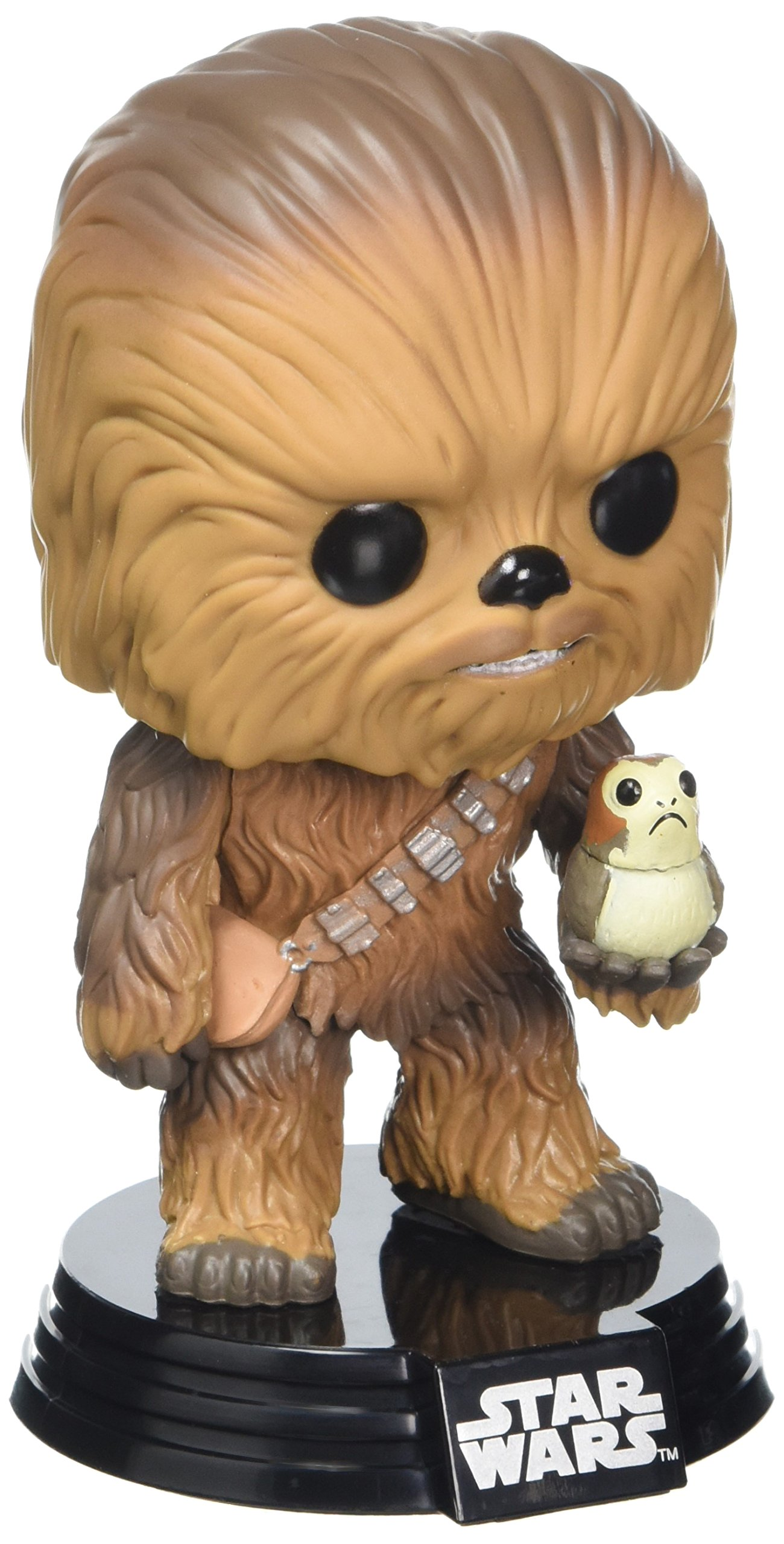 Funko Pop Chewbacca con Porg (Star Wars 195) Funko Pop Star Wars