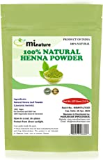 mi nature Henna Powder (LAWSONIA INERMIS)/ 100% Pure