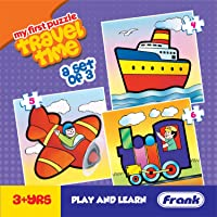 Frank - 10201 Travel Time Puzzle For 3 Year Old Kids And Above