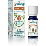 Puressentiel - Huile Essentielle Tea Tree - Bio - 100% pure et naturelle - HEBBD - 10 ml